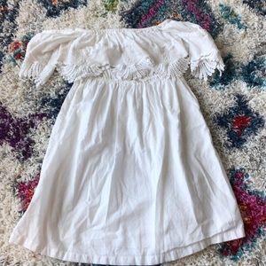 rip curl white dress